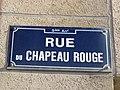 Lyon 9e - Rue du Chapeau Rouge - Plaque (fév 2019).jpg