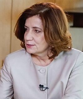 Miriam Leitão Brazilian journalist