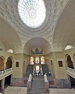 München-Maxvorstadt, LMU Lichtsaal (Weiße-Rose-Orgel, Steinmeyer) (8).jpg