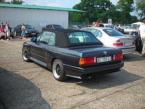 BMW M3 - BMW M3 convertible (with non-standard wheels)