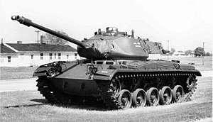 M41 Walker Bulldog - M41 Walker Bulldog with US Army markings.