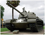 M48 Patton Tank on display.jpg