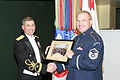 MAJ Andrew Esch with tuba soloist MSgt Chris Quade (3248035880).jpg