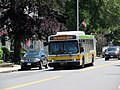 MBTA route 136 bus at Boardman Avenue, June 2017.JPG