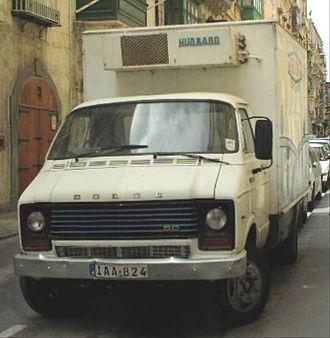 "Dodge 50 Series - Dodge 50 with refrigeration unit for ""Benna""-Milk in Malta"