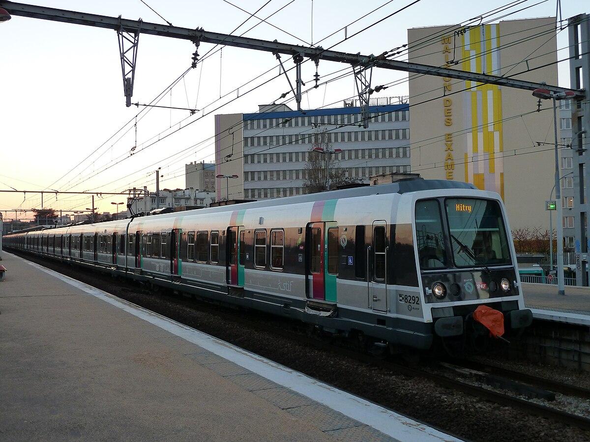 Réseau express régional d'Île-de-France — Wikipédia
