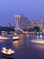 Exterior of the Mandarin Oriental, Bangkok