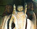 MOs810, WG 2014 20, OChK Las Miejski (Lesnictwo Smoszew, wayside shrine).JPG