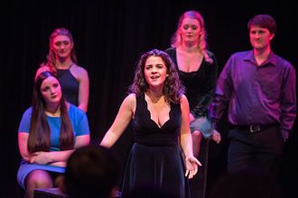 Manhattan School of Music - A Musical Theatre student performs in the 2016 Inaugural Music Musical Theatre Fall Showcase