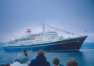 MS Marco Polo - MS Aleksandr Pushkin in the summer of 1970.