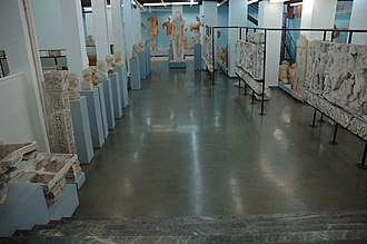 Museum of Plaster Casts (Thessaloniki) - Image: Macedonian Museums 98 Plaster Casts Thess 443