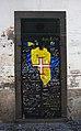 Madeira - Puerta pintada - Rua Santa Maria - 001.jpg