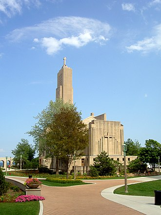 Loyola University Chicago - Madonna della Strada Chapel