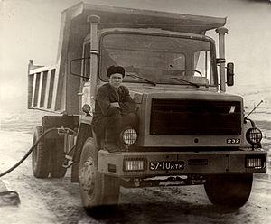 Magirus - Image: Magirus Deutz 232 in Kasachstan