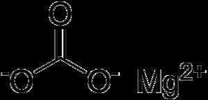 Magnesium carbonate - Image: Magnesium carbonate