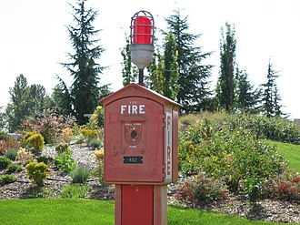 Alarm device - Fire Alarm in Magnuson Park