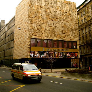 Magyar Theatre hungarian state-run theater in Budapest
