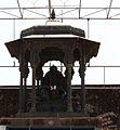 Maharaj's statue at the darbar.jpg