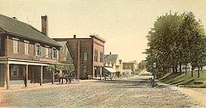 Epping, New Hampshire - Main Street in 1905