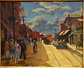 Main Street, Gloucester, by John Sloan, 1917, oil on canvas - New Britain Museum of American Art - DSC09607.JPG