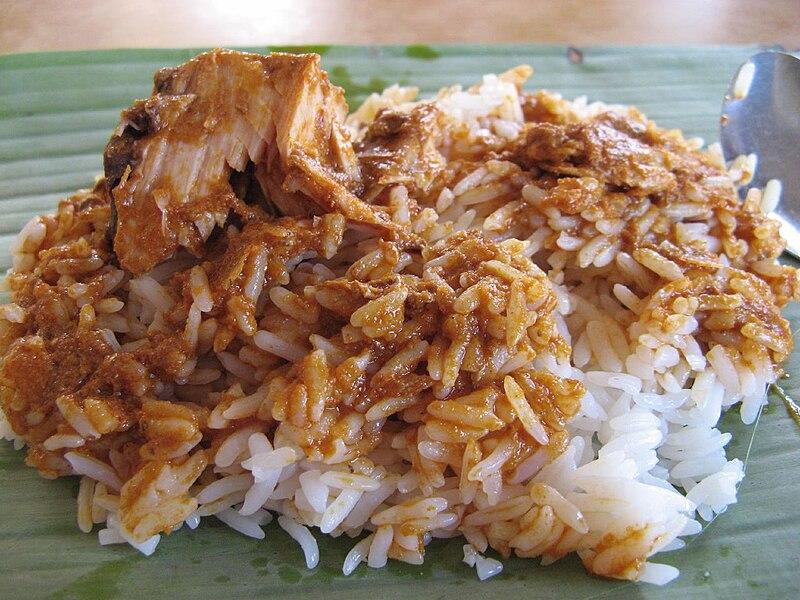 Nasi Dagang in Malaysia