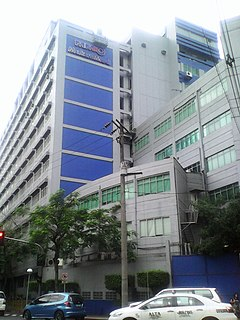 Hospital in Makati, Philippines