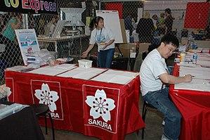 Sakura Color Products Corporation - Sakura of America booth at Maker Faire 2008
