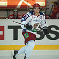 Maksim Chudinov - Switzerland vs. Russia, 8th April 2011 (1).jpg