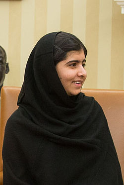 Malala Yousafzai at Oval Office 2013 cropped.jpg