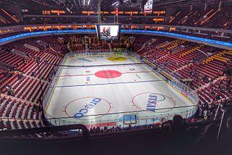 Malmö Arena - Image: Malmö Arena interior