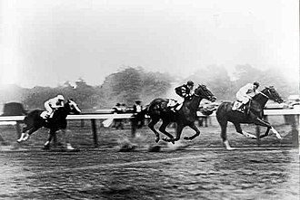 Man o' War - Man o' War suffers his sole defeat to Upset in the Sanford Stakes