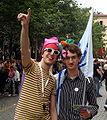 Manifestanti al BiellaPride 2008 - Foto Giovanni Dall'Orto, 14-June-2008 2.jpg