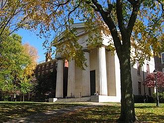Russell Warren (architect) - Manning Hall, Brown University, 1834.