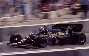 Nigel Mansell - Mansell at the 1984 Dallas Grand Prix