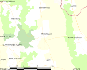 Map commune FR insee code 65308.png