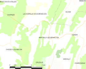 Map commune FR insee code 71284.png