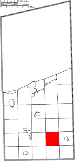 Location of Cherry Valley Township in Ashtabula County