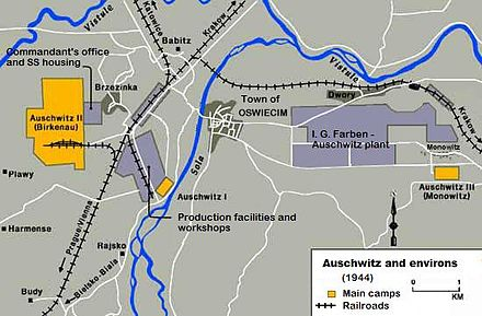 Auschwitz Karte.Kz Auschwitz Wikiwand