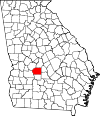 Map of Georgia highlighting Dooly County.svg