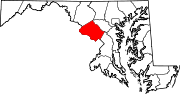 Map of Maryland highlighting Montgomery County.svg