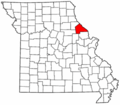 Map of Missouri highlighting Pike County.png