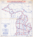 Map of Proposed National Highways for Michigan, 1916 WDL11553.png