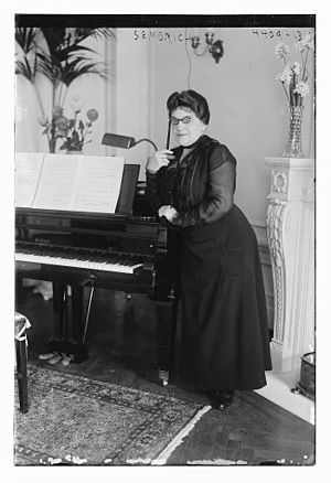 Marcella Sembrich - Marcella Sembrich in 1917