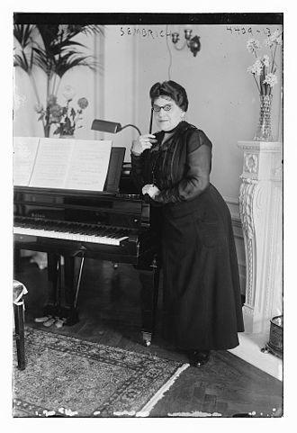 Marcella Sembrich - Marcella Sembrich in 1917