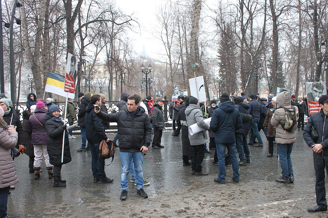 March in memory of Boris Nemtsov in Moscow (2019-02-24) 10.jpg