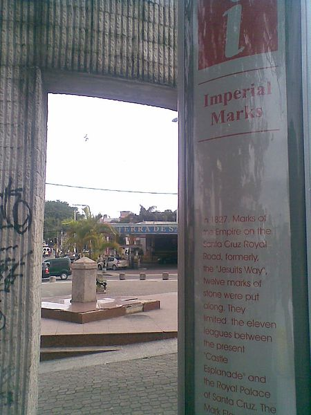 Ficheiro:MarcoXI(Placa turística).jpg