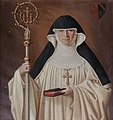 Maria Magdalena Kollefrath abbess of Lichtenthal Abbey.jpg