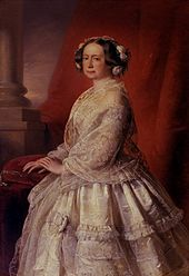 Porträt Maria Pawlownas aus einem Gemäldezyklus im Weimarer Schloss (Quelle: Wikimedia)