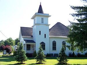 Marienville, Pennsylvania - Image: Marienville Presbyterian Church panoramio