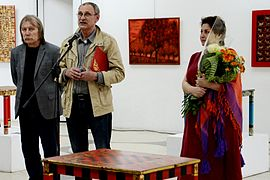 Marita Holubeva Exhibition in Palace of Art 18.06.2014 Leanid Khobatau.jpg